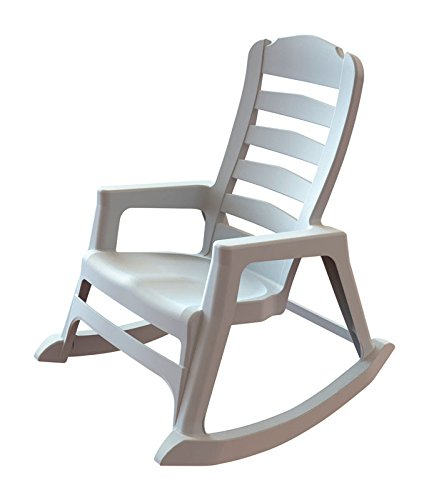 8080 Chair - Stack Rocking Chair Wht