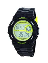 Dunlop Men's Chronograph Watch DUN-176-G12-Triad-100M Water Resistant, El Backlight