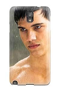 YY-ONE Tpu James D Bradley Men Male Celebrity Taylor Lautner Desktop Screensaver Twlight Star YY-ONE For Galaxy Note 3
