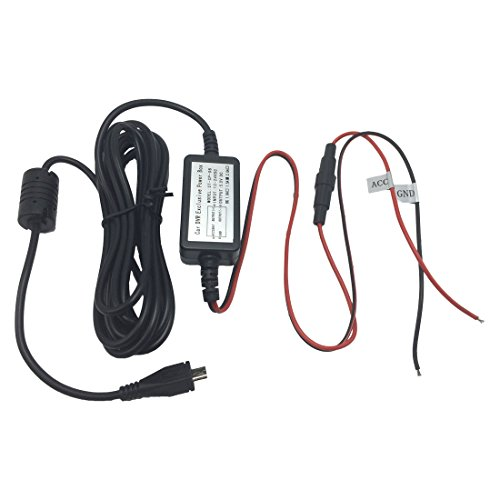 Arpenkin Dash Cam Micro USB Wiring Kit HardWire Kit 12V to 5