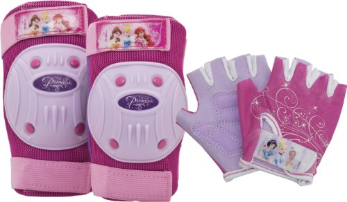 Bell Disney Princess Protective Gear Pad and Glove ()