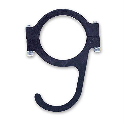 Longacre Black Anodized Aluminum Helmet Hook (22570)