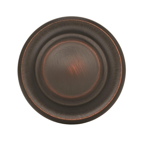 Amerock BP1586-ORB Inspirations 3-Ring 1-3/8-Inch Diameter Knob, Oil Rubbed Bronze
