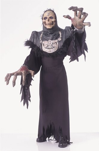 Grand Reaper Creature Reacher Deluxe Oversized Mask and Costume]()