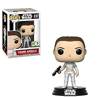 Funko Pop Star Wars Padmé Amidala in Geonosis Outfit Vinyl Figure (2018 ECCC Exclusive)