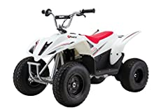 Domination on dirt! big enough to tackle rugged off-road terrain, this grown-up, pumped-up version of our dirt Quad is ready and able to get your Adrenaline rushing. Its authentic moto-styling, larger frame and high-torque Motor make this the...