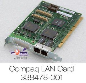 Amazon.com: COMPAQ 010557-001 DUAL 10/100 ETHERNET CARD 64 ...