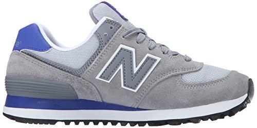 New Balance 574, Chaussures de Running Entrainement Femme Multicolore (Grey/Purple 059)