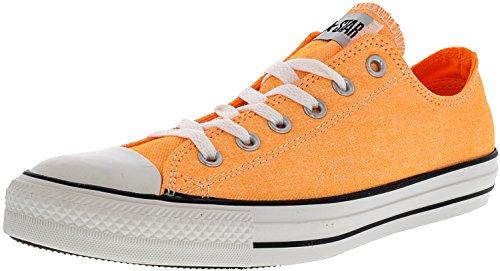 cda5b4f0f8f4 Converse Unisex Chuck Taylor All Star Washed Ox Neon Orange 10 Women   8  Men M US