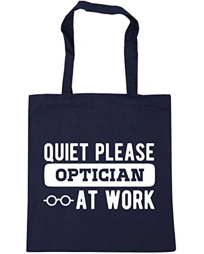 Beach 10 Bag HippoWarehouse Navy litres x38cm Gym Quiet Shopping 42cm at work please Tote French optician 87qz8H