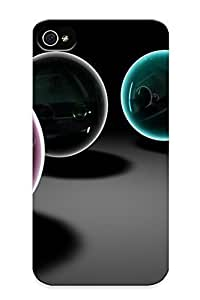 0cce639274 Anti-scratch Case Cover Protective Glass Spheres Case For Iphone 4/4s by kobestar