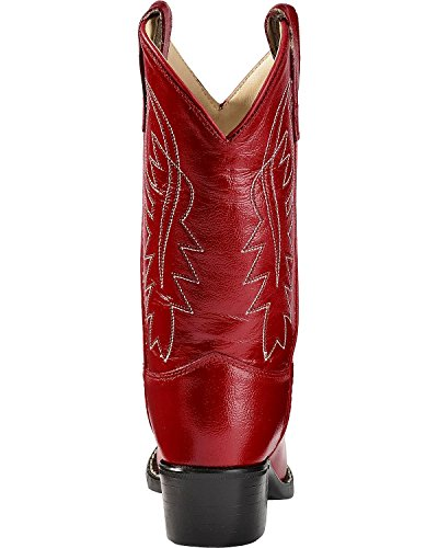 West Girls' Old Red Boot 3119 Cowboy Toddler zppqEdwx