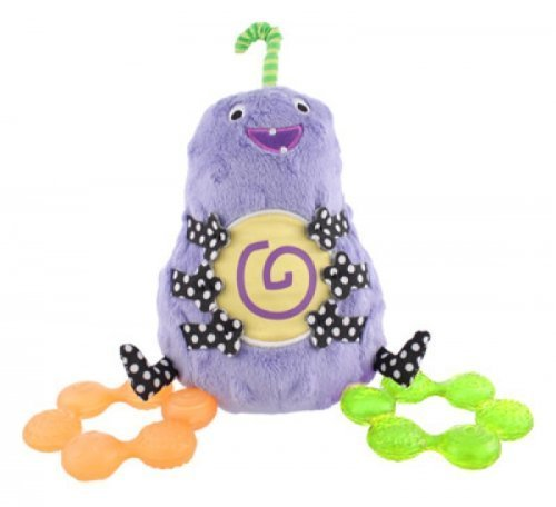 Sassy Water Filled Teethers (Sassy Non-sters Bumpee Plush Plus Bonus Water-Filled Teethers! by Sassy)