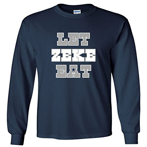 long-sleeve-navy-dallas-elliott-let-zeke-eat-t-shirt-youth-large