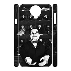 HXYHTY Design Case of Dead Silence Phone 3D Case For Samsung Galaxy S4 i9500 [Pattern-1]
