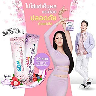 (GDM Blossom Jelly Drink for Weight Loss & Healthy Skin Block Burn Detox All in One (1 Box X 20 sachets))