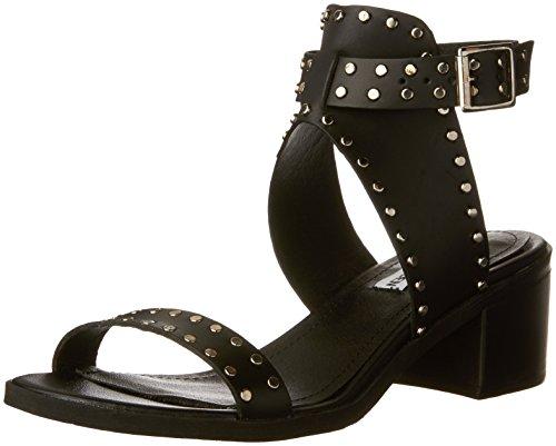 Steve Madden Women's Gila Dress Sandal, Black/Multi, 10 M US