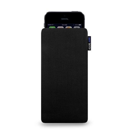 Adore June Classic Hülle für Apple iPhone 5 / 5s und iPhone SE - original Cordura - schwarz