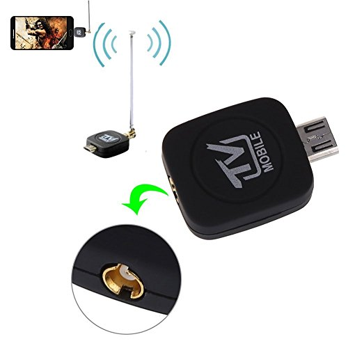ONX3 Mini Portable Micro USB DVB-T Digital Mobile TV Tuner Receiver for Velocity Micro Cruz T408 by ONX3® (Image #2)