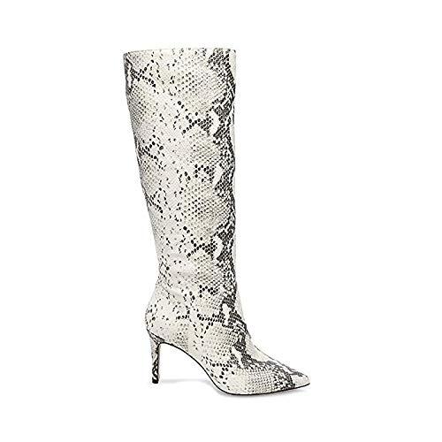Kinga Natural Boot Snake Dress Steve Madden 0 Us 6 Women's p7qw1TE