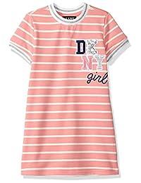 DKNY Vestido con Playera a Rayas para niñas