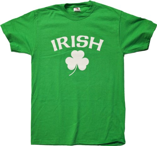 IRISH PRIDE Unisex Ireland T-shirt / St. Patrick's Day Irish Pride Tee Shirt-Green-Large (St Pats T Shirts)