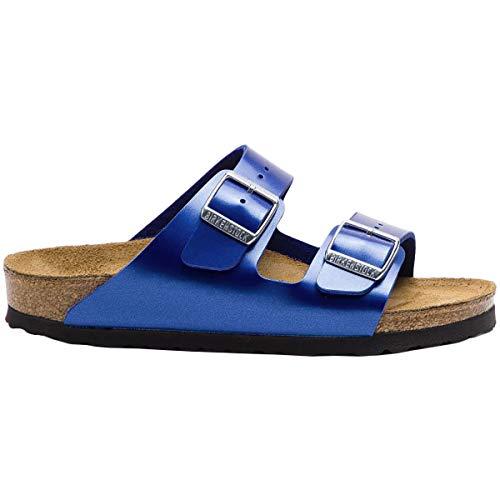 Birkenstock Unisex Arizona Birko-Flor Ocean Sandals 6 W / 4 M US