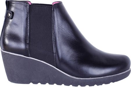 Helle Comfort Womens Genesis Leather Boots Black VCpgZ2oIPo
