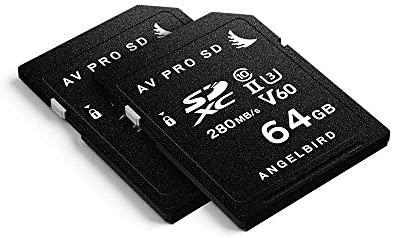 Angelbird SD Card AV Pro UHS-II 64GB V60 - Tarjeta SD (2 ...