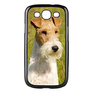 Custom Wire Fox Terrier Dog Hard Case Clip on Back Cover for Samsung S3 9300