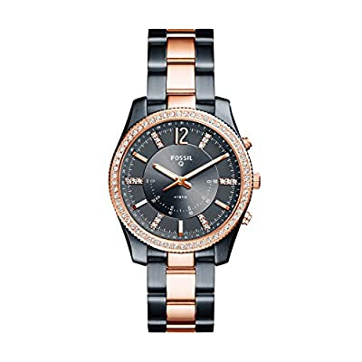 Fossil Hybrid Smartwatch - Q Scarlette Two-Tone Stainless Steel FTW5017