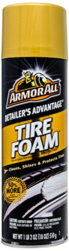 Armor All 78107 Detailer's Advantage Tire Foam Protectant - 18 oz. (Armor All Ingredients)