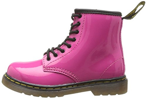 Stivali Hot Pink Scarpe Zip Brooklee ToddlerPelle Patent Martens Dr txPEgg