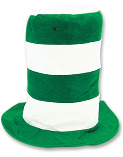 Rhode Island Novelty New St Patricks Day Green Irish Stovepipe Costume (Lucky Leprechaun Adult Costumes)