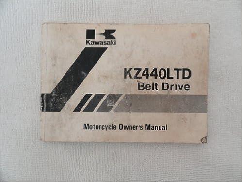 1981 1982 kawasaki kz440 ltd owners manual kz 440 ltd: kawasaki.