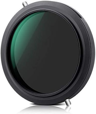 Rakuby カメラレンズ用 超薄型 67mm NDフィルター CPL円偏光フィルター 2-in-1可変式 ND2-ND32 ニ