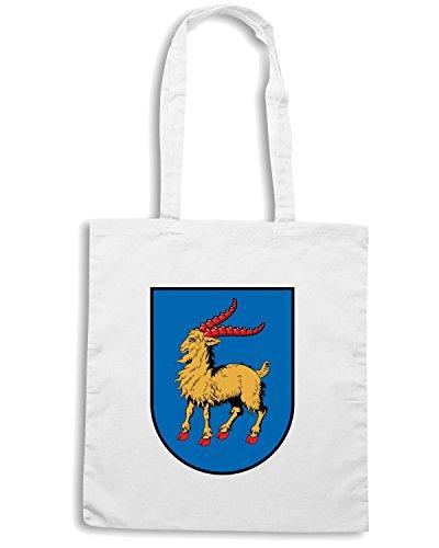 T-Shirtshock - Bolsa para la compra TM0100 istria coat citta Blanco