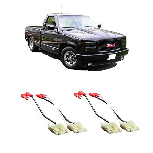 Fits GMC Sierra 1988-1994 Factory Speaker Replacement Connector Harness Package