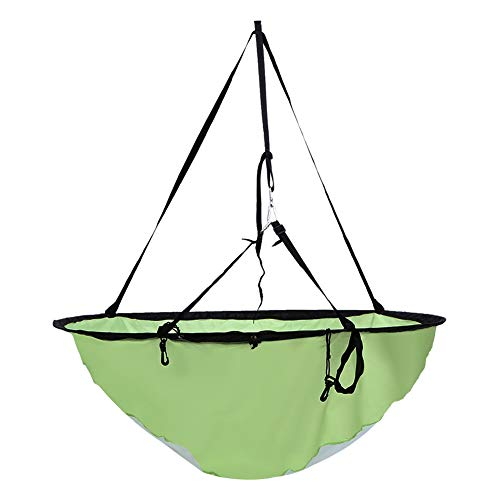 SparkLia 42 Durable Downwind Wind Sail Sup Paddle Board Instant Popup for Kayak Boat Sailboat Canoe Foldable Style (Green)