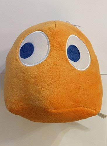 """Used, Pac-Man 7"""" Ghost Plush Orange (Clyde) for sale  Delivered anywhere in USA"""