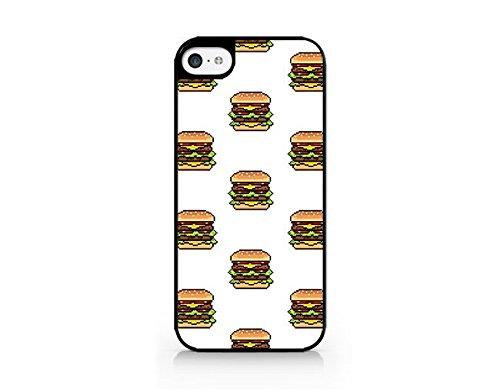 7s Costumes (Hamburger Costume - Hamburger Pattern Case - iPhone 7/7S Black Case (C) Andre Gift Shop)