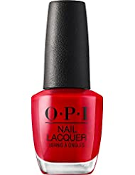 OPI Nail Lacquer, Long Lasting Nail Polish, Reds, 0.5 Fl Oz
