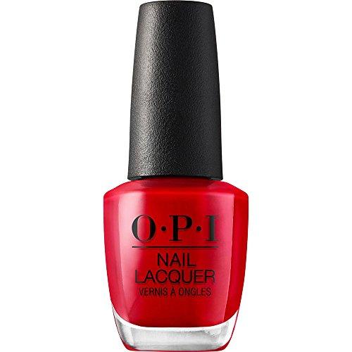 OPI Nail Polish, Nail Lacquer, Big Apple Red, Red, 0.5 Fl oz