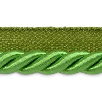Hunter Green 3//8-Inch Expo International 20-Yard Hilda Twisted Lip Cord Trim Embellishment