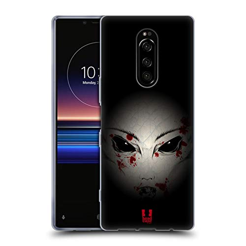 Head Case Designs Macabre Halloween Mix Soft Gel Case for Sony Xperia XZ4 / One