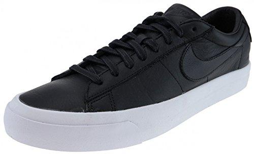 Nike Mens Blazer Studio Qs Ankel-high Läder Mode Sneaker Svart / Svart - Vit