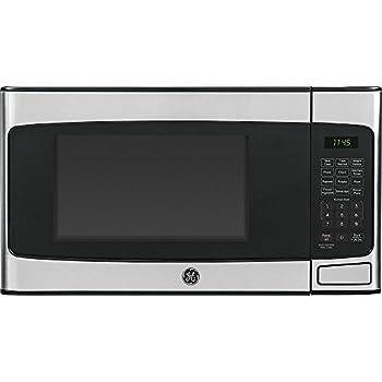 GE 1.1 Cu Ft Countertop Stainless Steel Microwave Oven Certified Refurbished