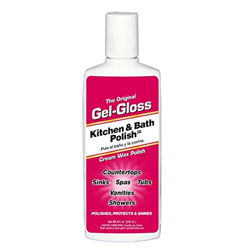 Rv Glass Cleaners - Gel-Gloss RV GG-8 Red The Original Gel-Gloss Kitchen and Bath Polish and Protector, 8 oz. Liquid, 8. Fluid_Ounces