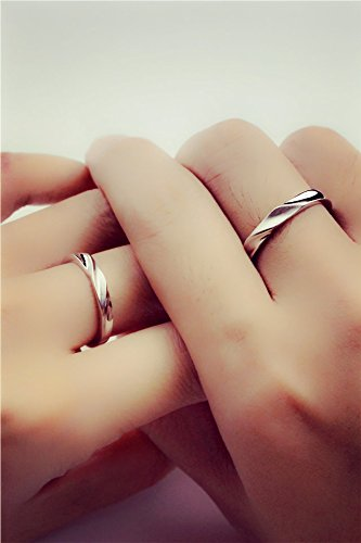Generic A_dream_to_bypass_port_a_ couple _rings_finger_ ring _is_ simple _and_pure_silver_ accessories ring women girls Jewelry _maiden_ honey gift _adj.