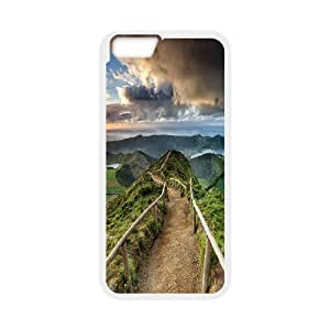 Diy Cool Road Custom for iphone 6 Plus (5.5 inch) White Shell Phone Cover Case LIULAOSHI(TM) [Pattern-1] by runtopwell